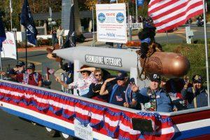 Shasta Lake Lions Veterans Parade @ Shasta Dam Blvd
